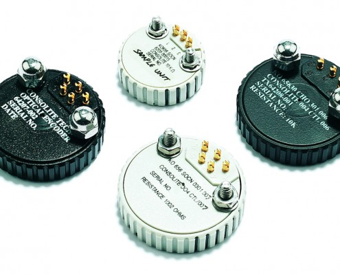 Control potentiometers and encoders